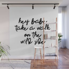 hey babe Wall Mural
