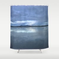 karma Shower Curtains featuring Karma by Chris' Landscape Images & Designs