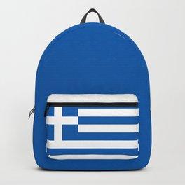 Greece Flag Greek Patriotic Backpack