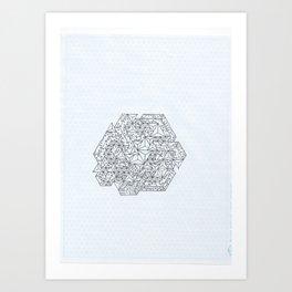Brain Circuits Art Print