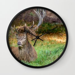 Crowned. Wall Clock