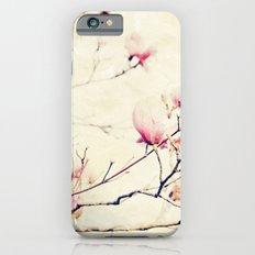 Spring Botanical - Tulip Tree, Magnolia × soulangeana II iPhone 6s Slim Case