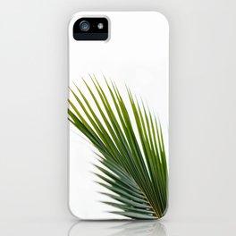Single Palm Leaf iPhone Case