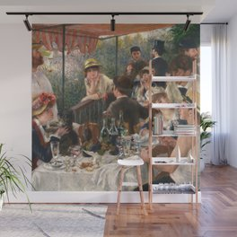 Luncheon of the Boating Party by Renoir Wall Mural