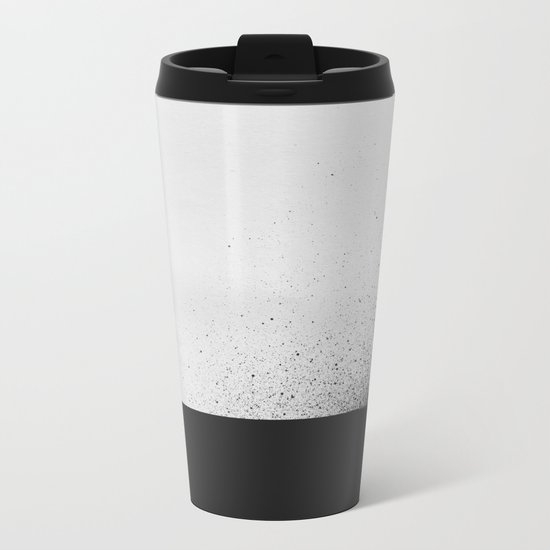 black 00 Metal Travel Mug