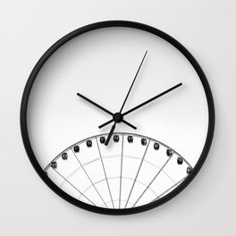 1/2 Ferris Wheel Wall Clock
