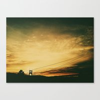 marc johns Canvas Prints featuring st johns by toria