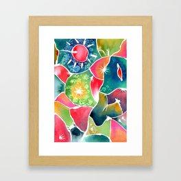 Magical World of Watercolor Framed Art Print