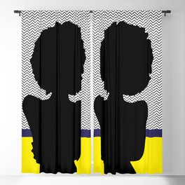 African Woman 6 Blackout Curtain