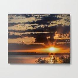 Another Fish Hook Lake sunrise Metal Print