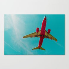 Landing to the Southwest Canvas Print