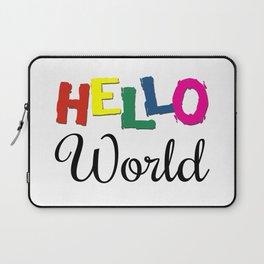 Hello World Laptop Sleeve