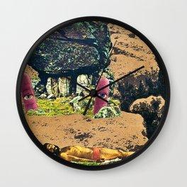 Tannin Wall Clock