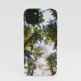 A view above iPhone Case