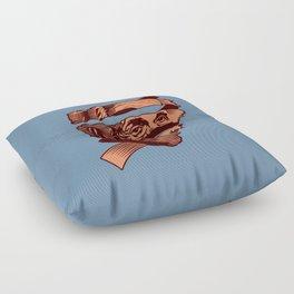E=M.C. Escher Floor Pillow