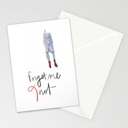 Forget me (K)not Stationery Cards
