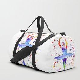 Ballet Dancer Duffle Bag