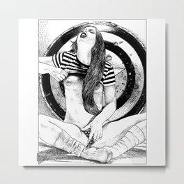 asc 393 - Le repos de la guerrière (The rest of the Warrior Princess) Metal Print