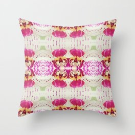 Flower Series I [Orchid] Throw Pillow