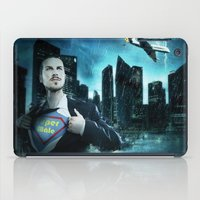 super heroes iPad Cases featuring Heroes by Nessendyl