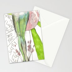 I love you gams Stationery Cards