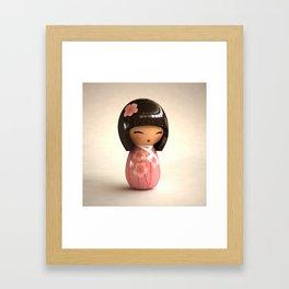 Kokeshi 06 Framed Art Print
