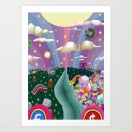 Veso Cuto & Tedo Vec Art Print