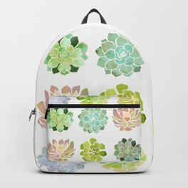 Spring Succulents Backpack