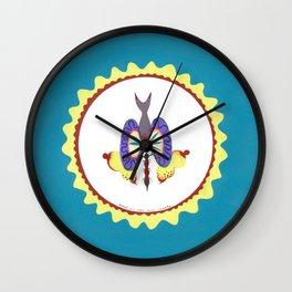 Hypnosis Wings Wall Clock