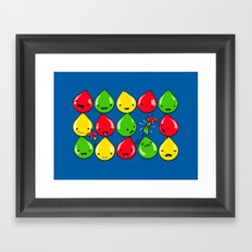 It's All Fun and Games, Until... Framed Art Print