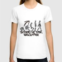 evolution T-shirts featuring EVOLUTION by AURA-HYSTERICA