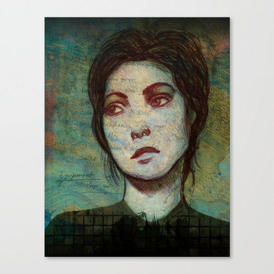 Portrait of a Girl Canvas Print