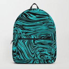 Marble pattern sea wave Backpack