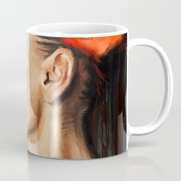 The Black Goddess - Flowers In Her Hair Coffee Mug