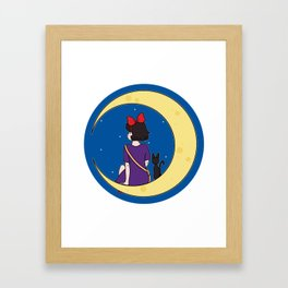 We Fly With Our Spirit. Framed Art Print