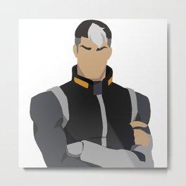 Pouty Shiro - Voltron Legendary Defender Metal Print