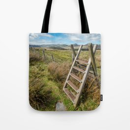 Take The Path Tote Bag