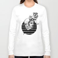 picasso Long Sleeve T-shirts featuring Picasso by Benson Koo