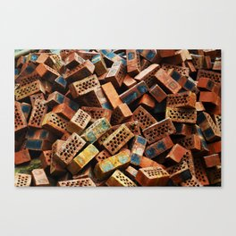 Chinese Bricks Canvas Print