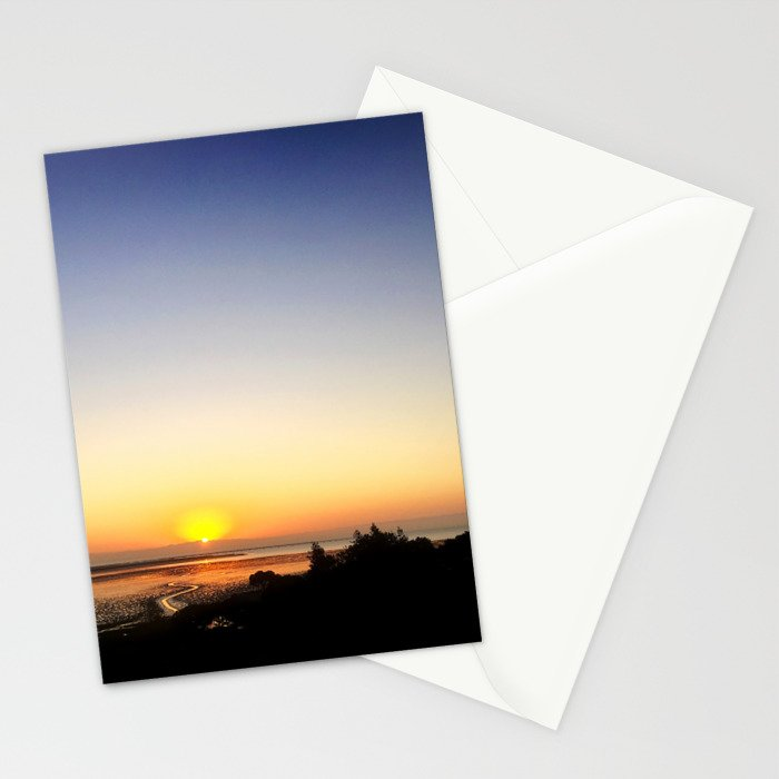 Sunset Somewhere Stationery Cards