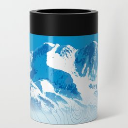 Mt. Alyeska Alaska Can Cooler