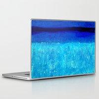 aqua Laptop & iPad Skins featuring Aqua by BruceStanfieldArtistPainter