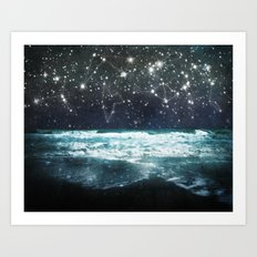 The Greek Upon the Stars Art Print