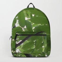 Green leaves Backpack
