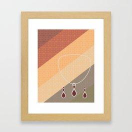 Jangle Dangle Framed Art Print