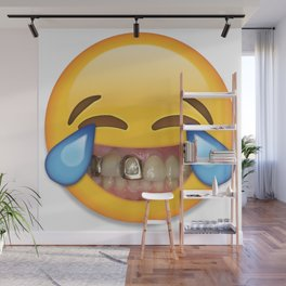 Tears Of Moderate Joy Wall Mural