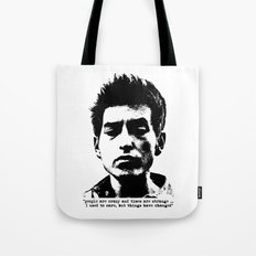 Bob Dylan Things Have Changed Tote Bag