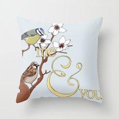 Me&You Throw Pillow