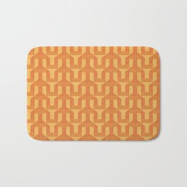 orange factory Bath Mat