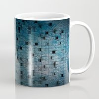 grid Mugs featuring Grid by Tayler Smith